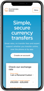 currencydirect-phone image